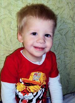 Илюша Сидоров, 2 года, врожденный порок сердца, спасет эндоваскулярная операция, требуется окклюдер. 242798 руб.