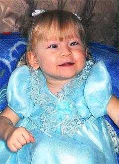 Арина Никитина, 3 года, детский церебральный паралич, требуется лечение. 199430 руб.