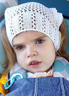Мила Усик, 3 года, детский церебральный паралич, эпилепсия, спастический тетрапарез (двигательные нарушения), требуется лечение. 173600 руб.
