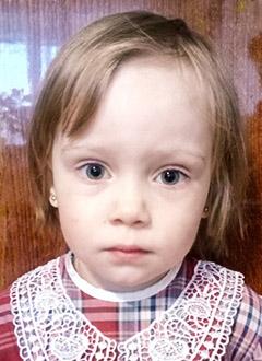 Василиса Бабчук, 3 года, врожденный порок сердца, спасет операция. 366496 руб.