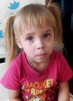 Милана Сафонова, 3 года, муковисцидоз, требуется лечебное питание. 125025 руб.