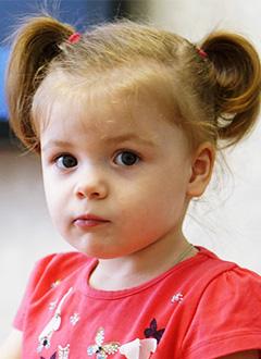 Лиза Камышова, 2 года, туберозный склероз, спасет лекарство. 283999 руб.