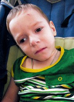 Олег Чернецов, 5 лет, детский церебральный паралич, эпилепсия, требуется лечение. 199430 руб.