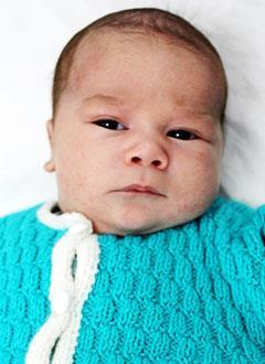Егор Першин, 2 месяца, врожденная двусторонняя косолапость, требуется лечение по методу Понсети. 151900 руб.