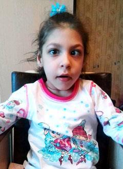 Кира Шайхуллина, 5 лет, детский церебральный паралич, требуется лечение. 199430 руб.
