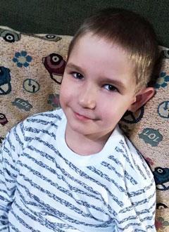 Костя Гринберг, 7 лет, врожденный порок сердца, спасет операция. 496500 руб.