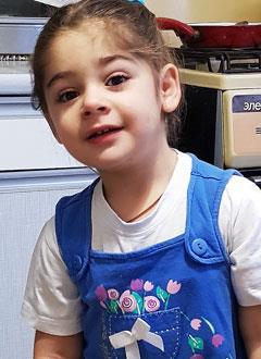 Ульяна Забура, 3 года, S-образный сколиоз грудопоясничного отдела позвоночника, требуется ортопедический корсет. 145390 руб.