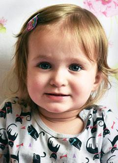 Злата Сондык, 2 года, врожденный порок сердца, спасет эндоваскулярная операция, требуется окклюдер. 295337 руб.