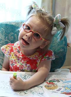 Аня Рякина, 3 года, детский церебральный паралич, требуется курсовое лечение. 180000 руб.