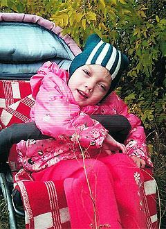 Ира Зарембо, 9 лет, детский церебральный паралич, требуется лечение. 199430 руб.