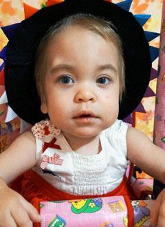 Варя Морозова, 1 год, редкое генетическое заболевание – мукополисахаридоз, синдром Гурлер, спасет трансплантация костного мозга, требуется поиск и активация донора в международном регистре. 5246949 руб.