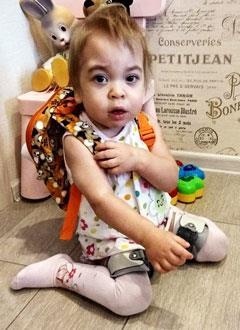 Варя Морозова, 1 год, редкое генетическое заболевание – мукополисахаридоз, синдром Гурлер, требуется лекарство. 1170932 руб.