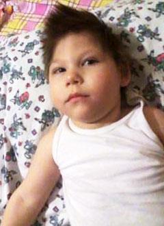 Искандер Ахмадуллин, 5 лет, симптоматическая эпилепсия, требуется лечение. 199430 руб.