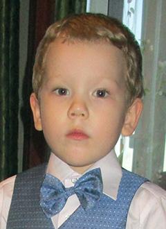 Ярослав Бахарев, 3 года, детский церебральный паралич, требуется лечение. 199430 руб.