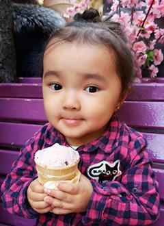 Адия Бурлукпай, 2 года, несовершенный остеогенез, требуется курсовое лечение. 527310 руб.