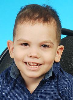 Саша Черняев, 4 года, детский церебральный паралич, требуются ходунки. 183908 руб.