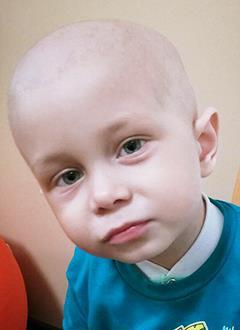 Данила Стрыжков, 2 года, злокачественная опухоль головного мозга – анапластическая эпендимома, требуется протонная терапия. 1953000 руб.