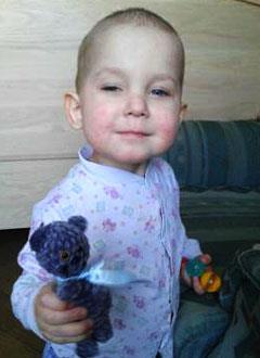 Дима Леванов, 3 года, острый миелобластный лейкоз, требуется оборудование для фотофереза (обработки клеток крови ультрафиолетовыми лучами). 648396 руб.