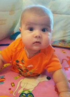 Владик Волков, 8 месяцев, острый лимфобластный лейкоз, спасут лекарства. 1651804 руб.