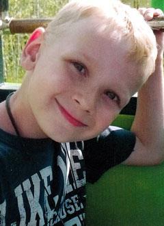 Саша Синев, 8 лет, врожденный порок сердца, спасет эндоваскулярная операция. 339063 руб.