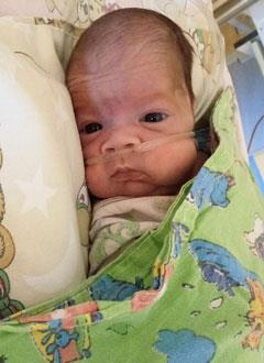 Валера Капитонов, 3 месяца, бронхолегочная дисплазия, требуется кислородный концентратор. 34286 руб.