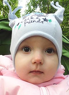 Фаня Турбина, полтора года, тяжелый врожденный порок сердца, спасет операция. 681519 руб.