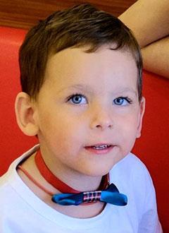 Даня Беулов, 4 года, детский церебральный паралич, требуется лечение. 199430 руб.