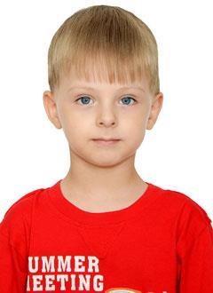 Тёма Беш, 4 года, двусторонняя тугоухость 4-й степени, требуются слуховые аппараты. 219062 руб.