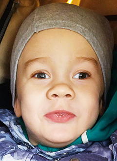 Владик Романов, 4 года, детский церебральный паралич, симптоматическая мультифокальная эпилепсия, требуется лекарство. 119284 руб.