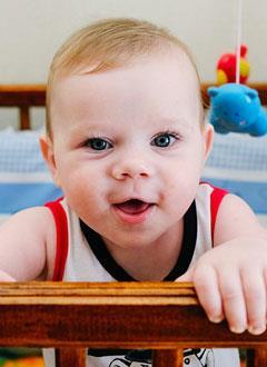 Богдан Хомяков, 8 месяцев, двусторонняя тугоухость 4-й степени, требуется слуховой аппарат. 115336 руб.