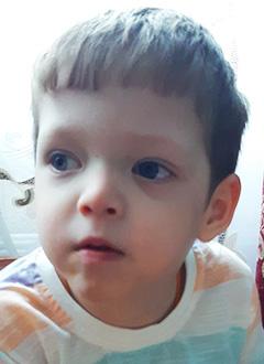 Андрей Семенов, 3 года, детский церебральный паралич, спастическая диплегия, требуется лечение. 199430 руб.