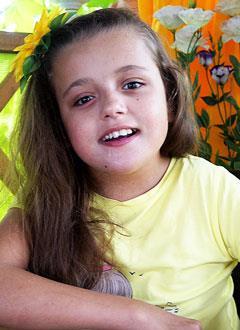 Соня Давыдова, 11 лет, детский церебральный паралич, спастический тетрапарез, требуется кресло-коляска. 220364 руб.
