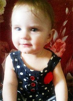 Ясмина Никитина, 1 год, несовершенный остеогенез, требуется курсовое лечение. 527310 руб.