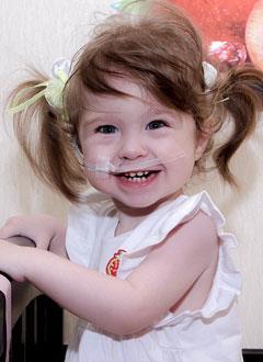 Лиза Смольянинова, 1 год, бронхолегочная дисплазия, спасет лекарство. 886988 руб.
