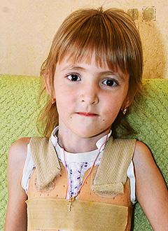 Уля Спиридонова, 5 лет, синдром Билса (множественные патологии костной системы), остеопороз, требуется курсовое лечение. 527310 руб.