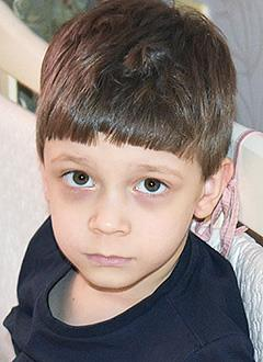 Тима Усенко, 5 лет, аутизм, задержка психического развития, требуется курсовое лечение. 199200 руб.