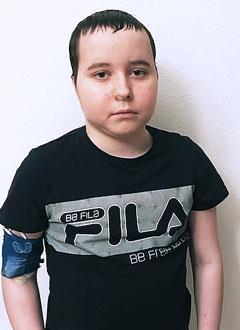 Владик Иванов, 13 лет, острый миелобластный лейкоз, спасет введение донорских лимфоцитов. 412593 руб.