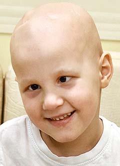 Сережа Селиванов, 4 года, злокачественная опухоль головного мозга – медуллобластома, требуется протонная терапия. 1953000 руб.