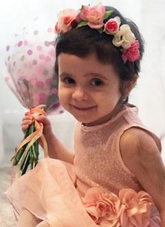 Варя Прокопец, 3 года, хроническая гранулематозная болезнь, первичный иммунодефицит, требуется обследование в Университетской детской клинике Цюриха (Швейцария). 1450471 руб.
