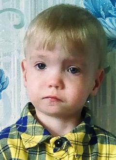 Дима Сойменов, 2 года, врожденная полная двусторонняя расщелина нёба, требуется операция. 105701 руб.