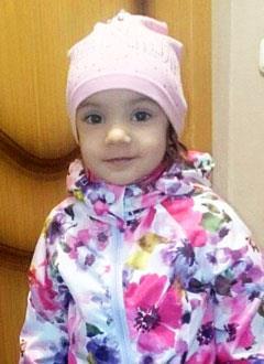 Ксюша Доценко, 2 года, врожденный гиперинсулинизм, спасет лекарство. 43190 руб.