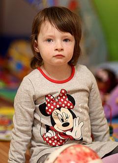 Рита Петренко, 3 года, туберозный склероз, симптоматическая мультифокальная эпилепсия, спасет лекарство. 485299 руб.
