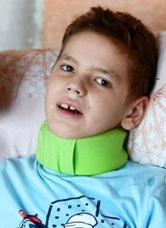 Миша Фролов, 13 лет, редкое генетическое заболевание – адренолейкодистрофия головного мозга, требуется лечебное питание. 276000 руб.