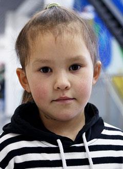 Зарина Ахметянова, 5 лет, врожденный порок сердца, спасет эндоваскулярная операция, требуется окклюдер. 197470 руб.