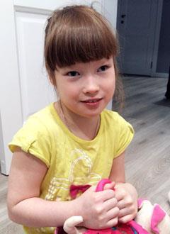 Аня Паршина, 11 лет, детский церебральный паралич, спастический тетрапарез, задержка психомоторного и речевого развития, требуется лечение. 199430 руб.