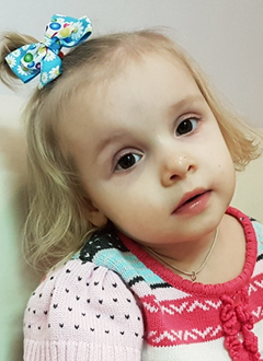 Маша Кабанова, 4 года, детский церебральный паралич, требуется лечение. 118265 руб.