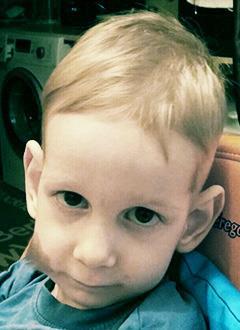 Денис Санаев, 3 года, спинальная мышечная атрофия 1-й степени, требуется специальный прибор для дыхания. 150598 руб.