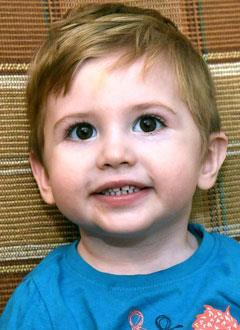 Рома Кундиус, 2 года, врожденный порок сердца, спасет операция. 545250 руб.