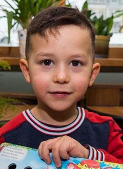 Артем Шуенков, 4 года, фенилкетонурия, требуется лечебное питание на год. 21251 руб.