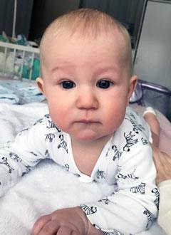 Кирилл Татаринов, 6 месяцев, врожденный порок сердца, спасет операция. 491000 руб.